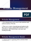 1- Introduction to Website Management