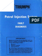 Petrol Injection System Fault Diagnosis- Blue Book