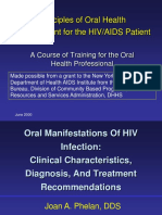 Oral_Manifestations_Of_HIV_Infection__Clinical_Characteristics,_Diagnosis,_and_Tx_Rec (1).ppt