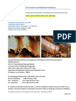 API 571 Corrosion and Materials Professional
