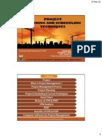 projectplanningandschedulingtechnique-160404085913