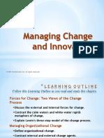 Innovation Change Management