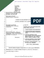 Deckers v. Ross - Complaint