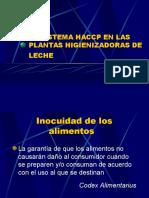 Sistema HACCP en La Industria Lecheras 2 Clase 3