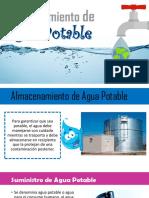 Almacenamiento de Agua Potable PDF