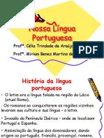 Nossa Língua Portuguesa (Thaís) PORTUGUES