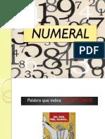 Numeral PORTUGUES