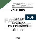 Plan de Manejo de RR.ss.