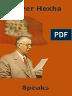 Enver Hoxha Speaks