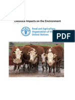 Livestock Impacts on the Environment