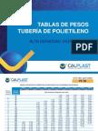 TABLAS DE PESOS TUBERÍA HDPE CALPLAST.pdf