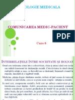Curs 6 Comunicarea Medic-pacient