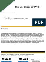 SAP BW Near-Line Storage (NLS) Implementation for Sybase IQ
