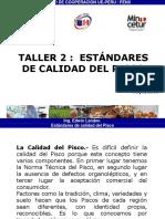 Taller2.2-Estandar de Calidad de Pisco