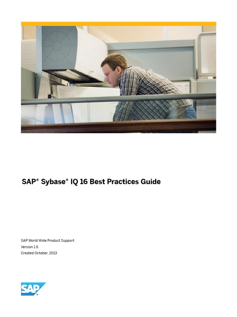 SAP Sybase IQ 16 Best Practices Guide | Database Index