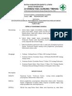 8.4.3.2 SK Tentang Sistem Pengkodean, Penyimpanan, Dokumentasi Rekam Medis