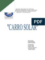 CARRO SOLAR 2 PROYECTO Diapositivas y Completar