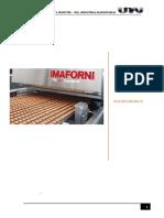 descripcion de equipos de fabricacion de galleta de quinua