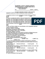 Examen 1º Bimestre Asignatura