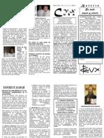 Boletín No. 15 CVX Cuba Julio 2010