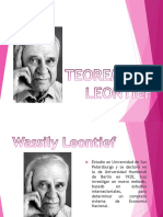 Teorema de Leontief