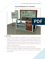Air Conditioning and Refrigeration PLC Training Kit