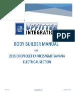 Express Savana Electrical Body Builders Manual Service Manual 2015 en US