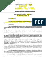 Modelo resolución comité ambiental