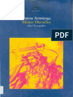 Armitage, Simon - Euripides' Mister Heracles
