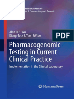 (Molecular and Translational Medicine) Alan H.B. Wu, Kiang-Teck J. Yeo-Pharmacogenomic Testing in Current Clinical Practice_ Implementation in the Clinical Laboratory (Molecular and Translational Medi