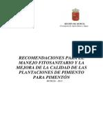 Recomendaciones Pimentón14 Abr 11