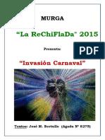 Repertorio Invasión Carnaval