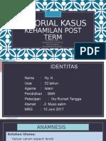 Tutorial Kasus Postterm