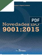 Novedades Iso 90012015 - Paloma López Lemos