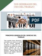 Principios Generales Del Derecho Del Trabajo -Presentacion Modificada