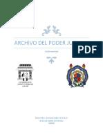Archivo Del Poder Judicial