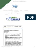 Bullyinfórmate - Información Contra El Bullying - Tipos de Bullying