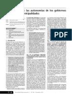 1.- Limitaciones de Autonomia de Los GM y GR