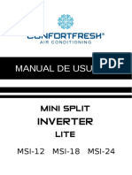 manualminisplitinverterconfortfreshseer16