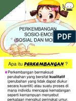 Perkembangan Sosio-emosi (Sosial Dan Moral) Tajuk 2-III