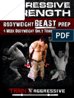 Aggressive Strength Bodyweight BEAST Program