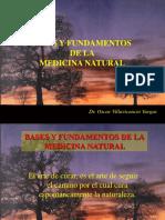 Bases y Fundamentos de Medicina Natural