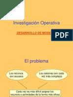 2a.desarrollo_modelos de Investigacion de Operaciones