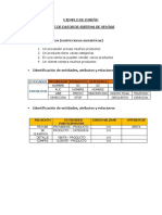 Ejemplo de Base de Datos Entidad Relacion