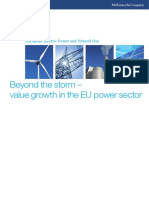 1. Beyond the Storm Value Growth in the EU Power Sector