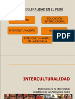 Power Interculturalidad en El Peru