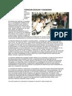 Participacion Escolar y Ciudadana