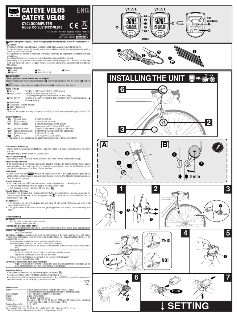 Cateye velo 5 инструкция на русском ermanapno49533.