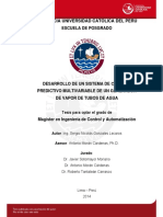 Gonzales Sergio Desarrollo Sistema Control Multivariable Generador Vapor Tubos Agua