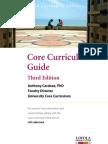 Core Curriculum Guide